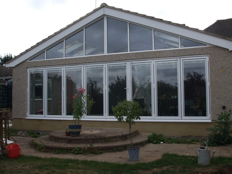 Beaufort Bi-fold Door and Gable End Window